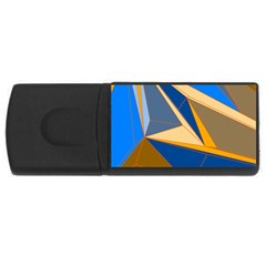 Abstract Background Pattern Usb Flash Drive Rectangular (4 Gb) by Amaryn4rt