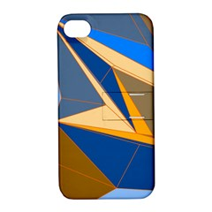 Abstract Background Pattern Apple Iphone 4/4s Hardshell Case With Stand by Amaryn4rt