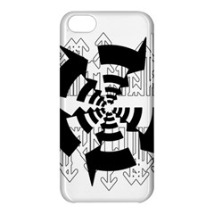 Arrows Top Below Circuit Parts Apple Iphone 5c Hardshell Case by Amaryn4rt