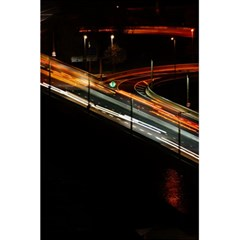Highway Night Lighthouse Car Fast 5 5  X 8 5  Notebooks by Amaryn4rt