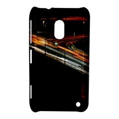 Highway Night Lighthouse Car Fast Nokia Lumia 620 by Amaryn4rt
