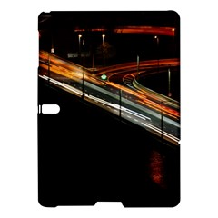 Highway Night Lighthouse Car Fast Samsung Galaxy Tab S (10 5 ) Hardshell Case  by Amaryn4rt