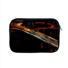 Highway Night Lighthouse Car Fast Apple Macbook Pro 15  Zipper Case by Amaryn4rt