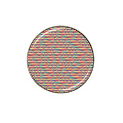 Background Abstract Colorful Hat Clip Ball Marker by Amaryn4rt
