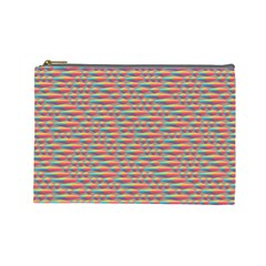 Background Abstract Colorful Cosmetic Bag (large)  by Amaryn4rt
