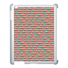 Background Abstract Colorful Apple Ipad 3/4 Case (white) by Amaryn4rt