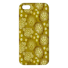 Flower Arrangements Season Gold Iphone 5s/ Se Premium Hardshell Case by Alisyart