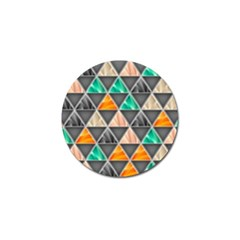Abstract Geometric Triangle Shape Golf Ball Marker (10 Pack) by Amaryn4rt