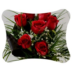 Red Roses Roses Red Flower Love Jigsaw Puzzle Photo Stand (bow)