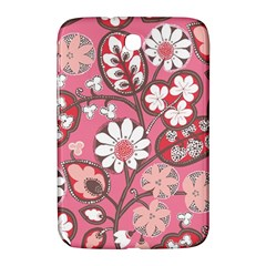 Flower Floral Red Blush Pink Samsung Galaxy Note 8 0 N5100 Hardshell Case  by Alisyart