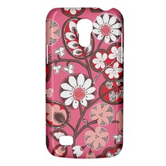 Flower Floral Red Blush Pink Galaxy S4 Mini by Alisyart