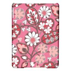 Flower Floral Red Blush Pink Ipad Air Hardshell Cases by Alisyart