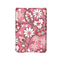 Flower Floral Red Blush Pink Ipad Mini 2 Hardshell Cases by Alisyart