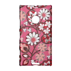 Flower Floral Red Blush Pink Nokia Lumia 1520 by Alisyart