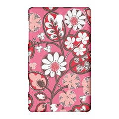 Flower Floral Red Blush Pink Samsung Galaxy Tab S (8 4 ) Hardshell Case  by Alisyart