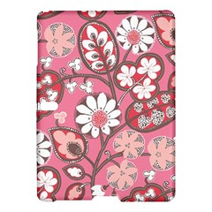 Flower Floral Red Blush Pink Samsung Galaxy Tab S (10.5 ) Hardshell Case  by Alisyart