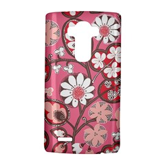 Flower Floral Red Blush Pink Lg G4 Hardshell Case by Alisyart
