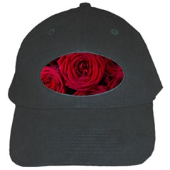 Roses Flowers Red Forest Bloom Black Cap by Amaryn4rt