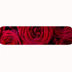 Roses Flowers Red Forest Bloom Large Bar Mats by Amaryn4rt