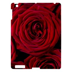 Roses Flowers Red Forest Bloom Apple iPad 3/4 Hardshell Case