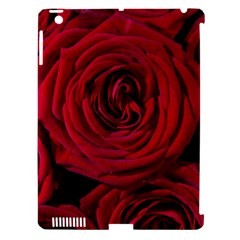 Roses Flowers Red Forest Bloom Apple Ipad 3/4 Hardshell Case (compatible With Smart Cover) by Amaryn4rt