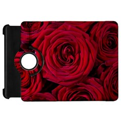Roses Flowers Red Forest Bloom Kindle Fire Hd 7  by Amaryn4rt