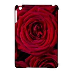 Roses Flowers Red Forest Bloom Apple Ipad Mini Hardshell Case (compatible With Smart Cover) by Amaryn4rt