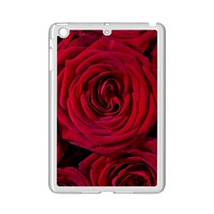 Roses Flowers Red Forest Bloom Ipad Mini 2 Enamel Coated Cases by Amaryn4rt