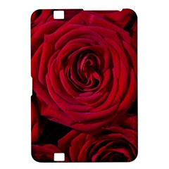 Roses Flowers Red Forest Bloom Kindle Fire Hd 8 9  by Amaryn4rt