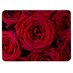 Roses Flowers Red Forest Bloom Samsung Galaxy Tab 7  P1000 Flip Case by Amaryn4rt