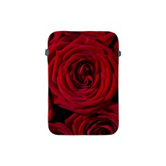 Roses Flowers Red Forest Bloom Apple iPad Mini Protective Soft Cases