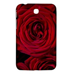 Roses Flowers Red Forest Bloom Samsung Galaxy Tab 3 (7 ) P3200 Hardshell Case  by Amaryn4rt