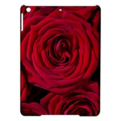Roses Flowers Red Forest Bloom Ipad Air Hardshell Cases by Amaryn4rt