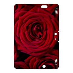 Roses Flowers Red Forest Bloom Kindle Fire Hdx 8 9  Hardshell Case by Amaryn4rt