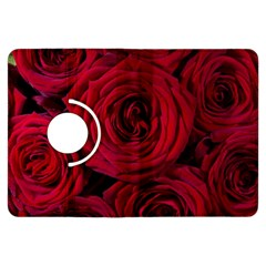 Roses Flowers Red Forest Bloom Kindle Fire Hdx Flip 360 Case by Amaryn4rt