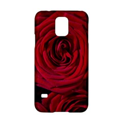 Roses Flowers Red Forest Bloom Samsung Galaxy S5 Hardshell Case  by Amaryn4rt