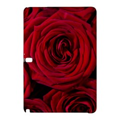 Roses Flowers Red Forest Bloom Samsung Galaxy Tab Pro 10 1 Hardshell Case by Amaryn4rt
