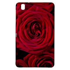 Roses Flowers Red Forest Bloom Samsung Galaxy Tab Pro 8 4 Hardshell Case by Amaryn4rt