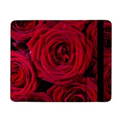 Roses Flowers Red Forest Bloom Samsung Galaxy Tab Pro 8 4  Flip Case by Amaryn4rt