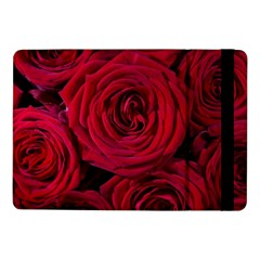 Roses Flowers Red Forest Bloom Samsung Galaxy Tab Pro 10 1  Flip Case by Amaryn4rt