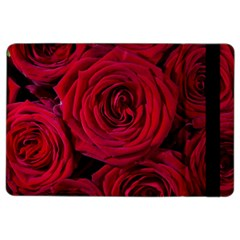 Roses Flowers Red Forest Bloom Ipad Air 2 Flip by Amaryn4rt