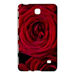 Roses Flowers Red Forest Bloom Samsung Galaxy Tab 4 (7 ) Hardshell Case  by Amaryn4rt