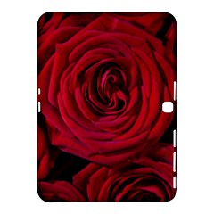 Roses Flowers Red Forest Bloom Samsung Galaxy Tab 4 (10 1 ) Hardshell Case  by Amaryn4rt