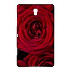 Roses Flowers Red Forest Bloom Samsung Galaxy Tab S (8 4 ) Hardshell Case  by Amaryn4rt