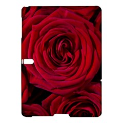 Roses Flowers Red Forest Bloom Samsung Galaxy Tab S (10 5 ) Hardshell Case  by Amaryn4rt