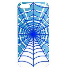 Cobweb Network Points Lines Apple Iphone 5 Hardshell Case With Stand by Amaryn4rt
