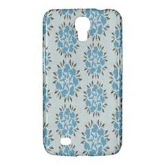Flower Floral Rose Bird Animals Blue Grey Study Samsung Galaxy Mega 6 3  I9200 Hardshell Case by Alisyart