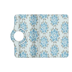 Flower Floral Rose Bird Animals Blue Grey Study Kindle Fire Hd (2013) Flip 360 Case by Alisyart