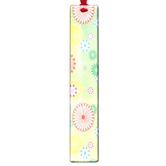 Flower Arrangements Season Pink Yellow Red Rose Sunflower Large Book Marks by Alisyart