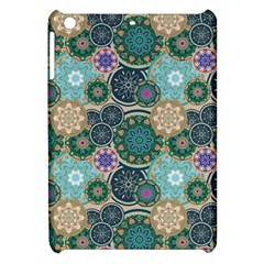 Flower Sunflower Floral Circle Star Color Purple Blue Apple Ipad Mini Hardshell Case by Alisyart